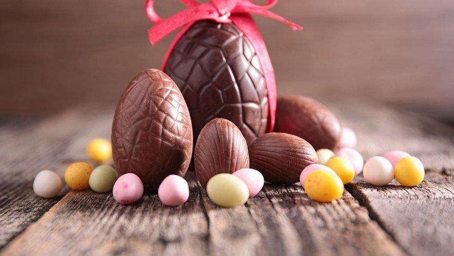 La chasse aux  œufs de Pâques est ouverte.