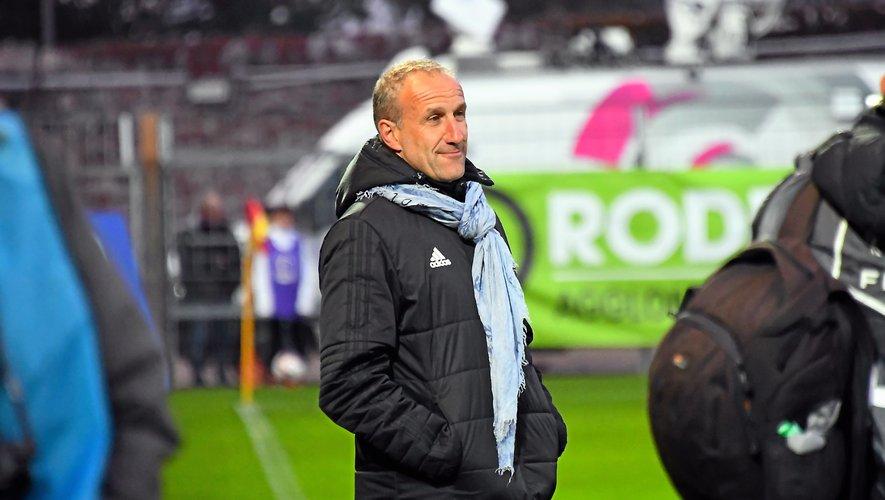 L'entraîneur Laurent Peyrelade.