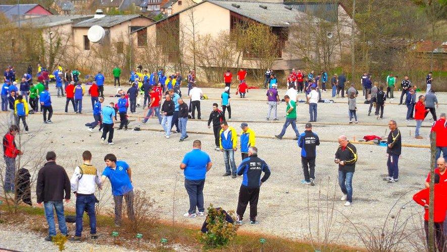 Pétanque, championnat de l'Aveyron