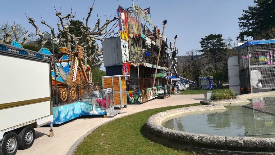 La fête foraine de Millau s'installe au parc de la Victoire