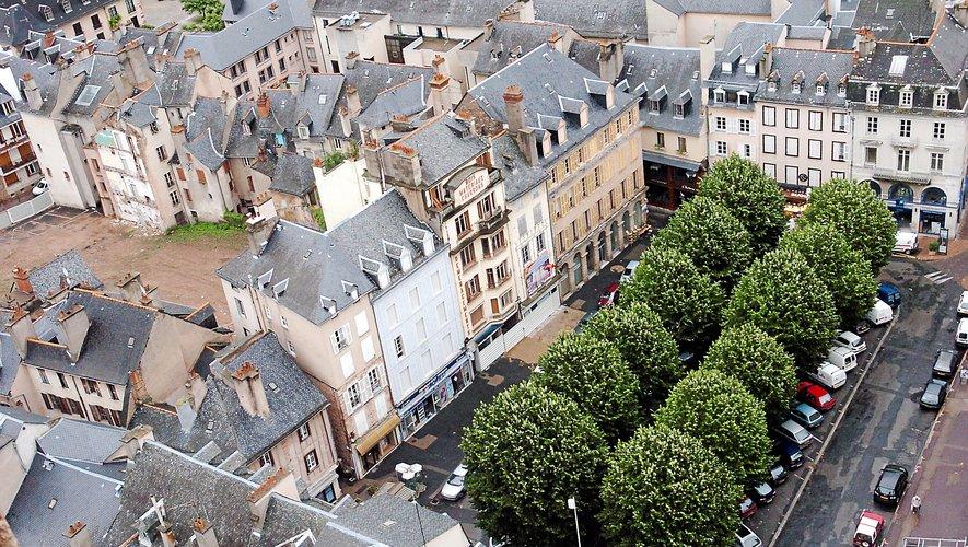 La place de la Cité prépare sa mue.