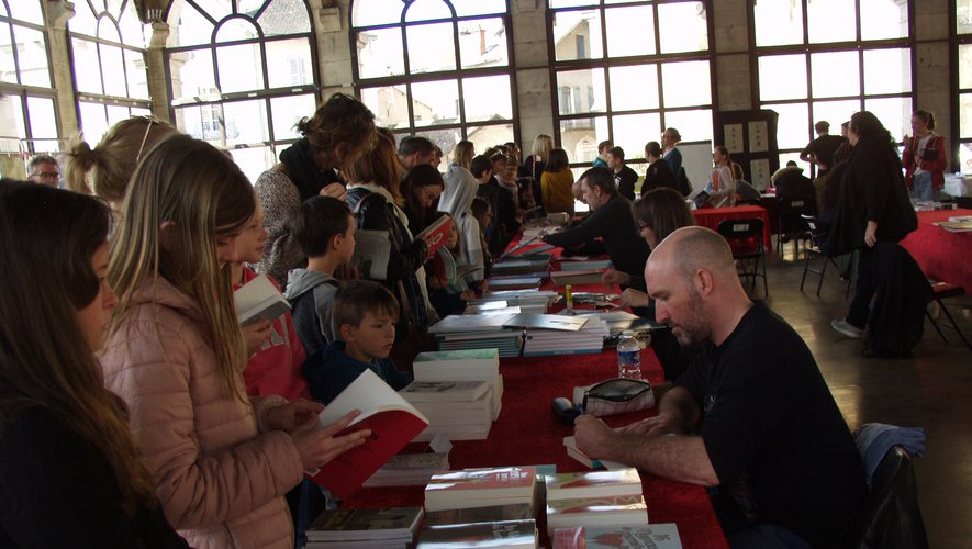 Beaucoup de monde pour cette 30e édition de la fête du livre jeunesse.