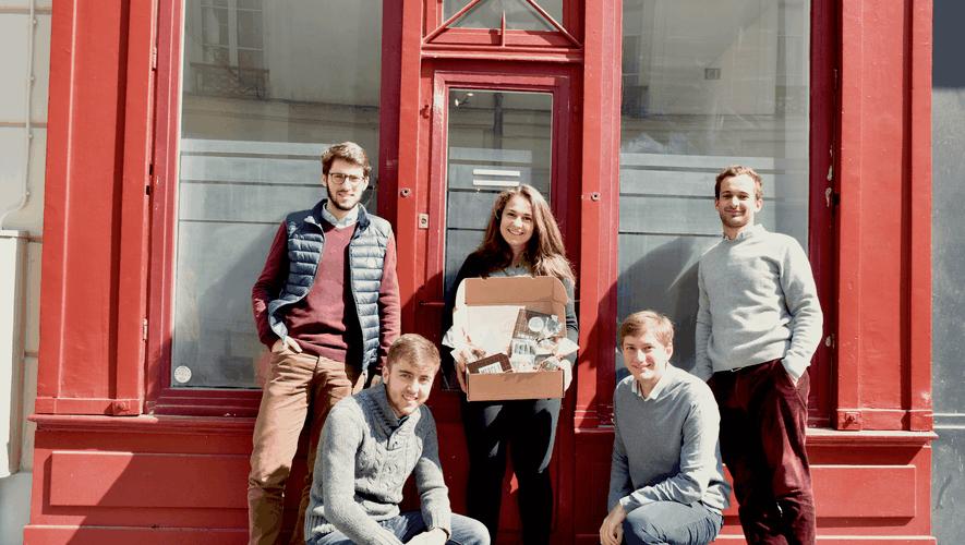 Les fondateurs de Divine Box.
