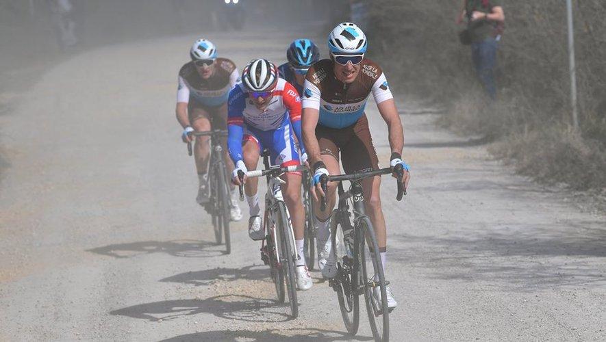 Toujours blessé à la hanche, Alexandre Geniez (AG2R) déclare forfait pour le Tour des Alpes