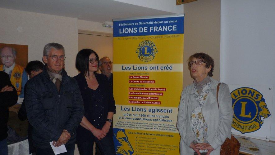 Les Lions font aussi des heureux en aidant les associations locales.