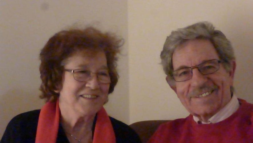 Reine et Yves Carcenac, un couple d'écrivains passionnés.