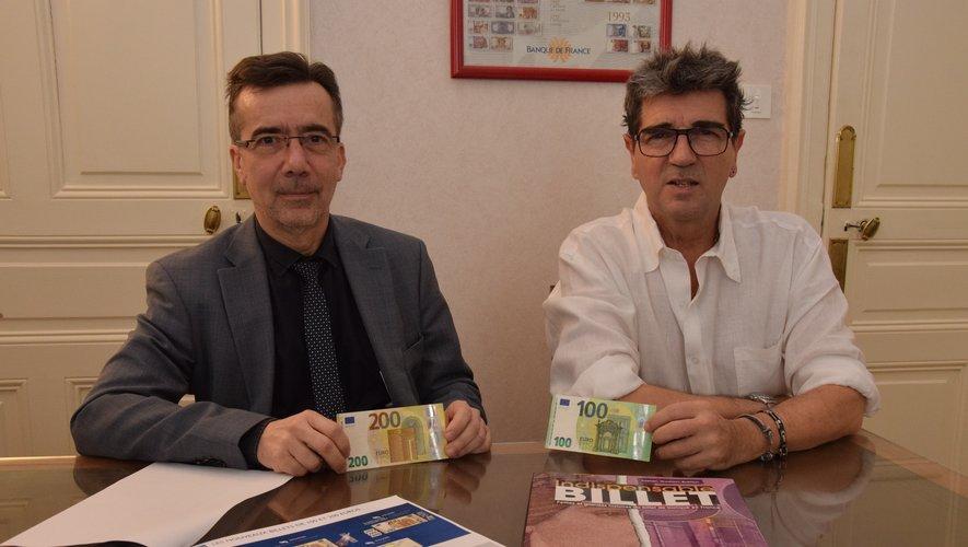 Guilhem Blanchin et Jean-Claude Aubert présentent les nouvelles coupures.