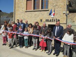 Inauguration des travaux de la rénovation de la mairie.