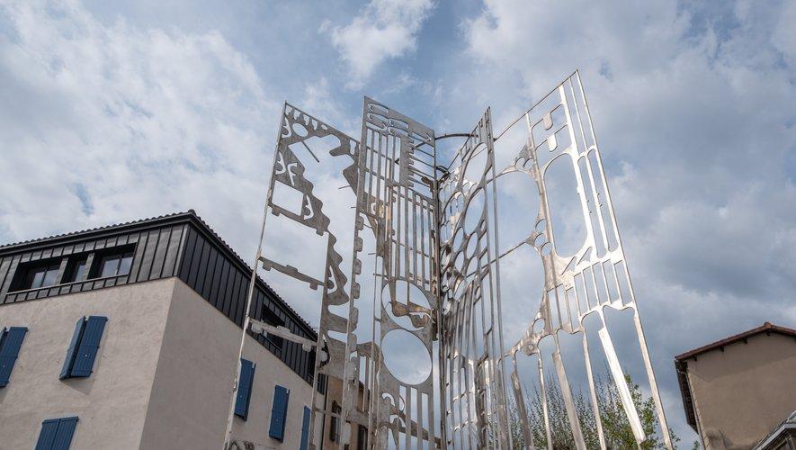 Cette sculpture avait été réalisée lors du premier Squ'arts.