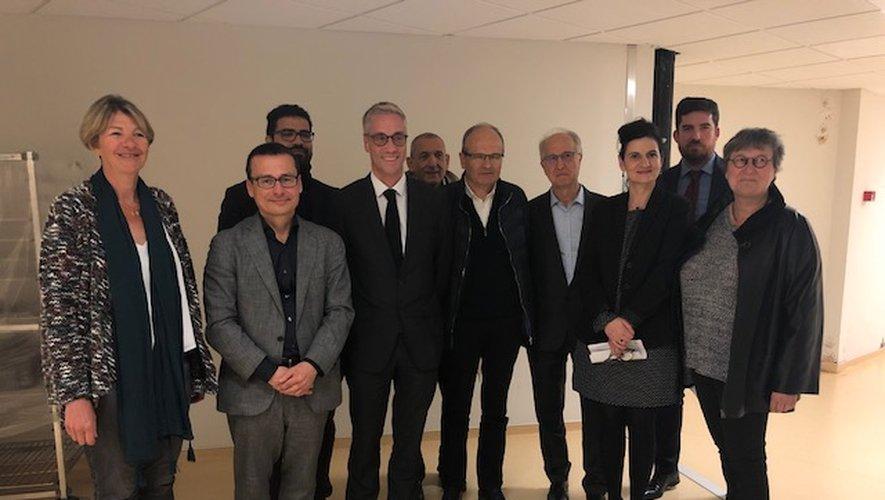 Le directeur général de l'ARS a rencontré les représentants de l'hôpital et les élus.