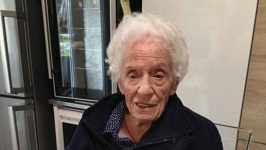 Madame Murat fête ses 103 ans.