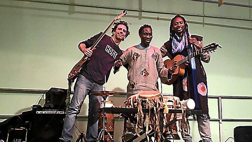 Bouba et Manko, groupe franco-sénégalais.