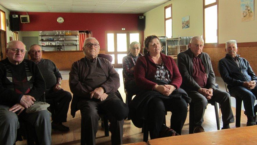 Les anciens combattants ont fait le bilan en présence du maire Bernadette Azémar.