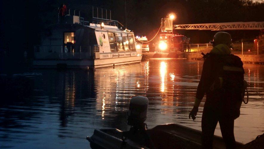 Un exercice pour sauver le bateau l'Olt