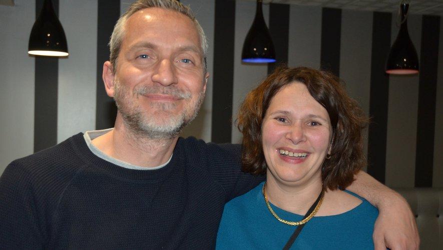 Olivier Norek et Muriel Couderc.