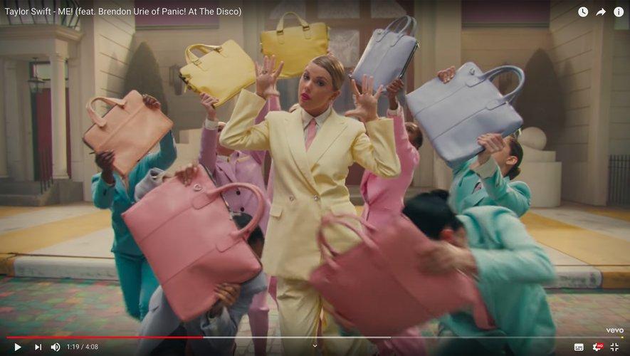 Taylor Swift a dévoilé son single 'ME!' sur YouTube.