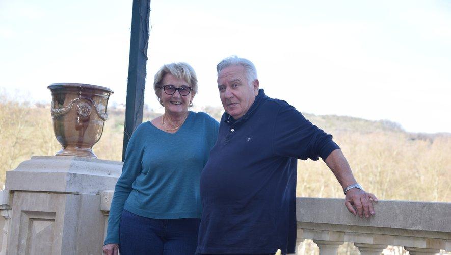 Simone et André Damon, inséparables et retraités actifs à Espalion.