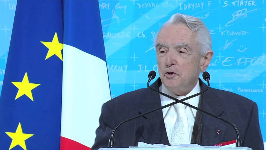 Homme d'innovation, l'Aveyronnais Roger Béteille fut directeur général d'Airbus de 1974 à 1985.Repro CP
