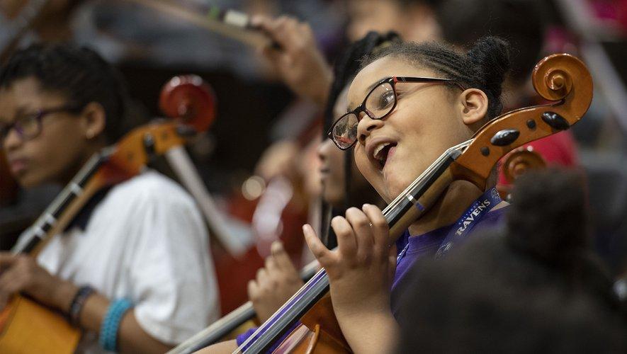 Par l'enseignement de la musique, un programme périscolaire veut insuffler le changement social dans la ville américaine défavorisée de Baltimore