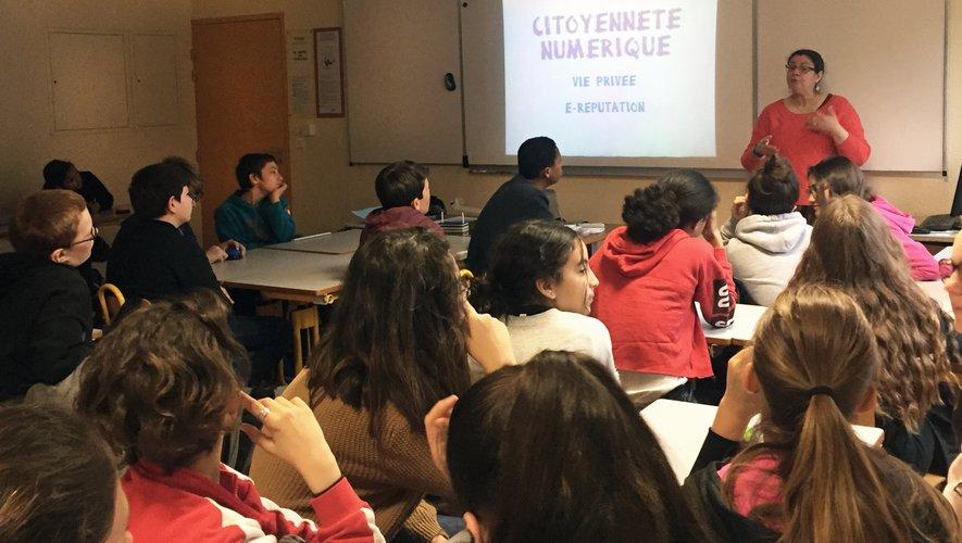 Une coopération fructueuse ente la cyberbase et le collège