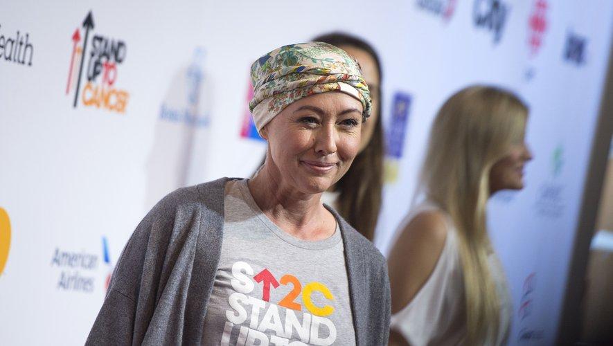Shannen Doherty lors d'un événement pour soutenir la lutte contre le cancer, le 9 septembre 2016.