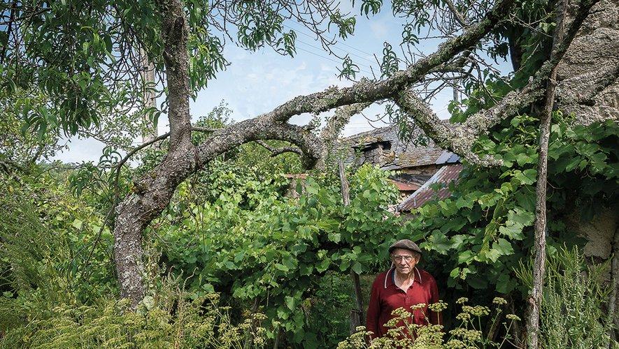 Alain Roux a immortalisé ses voisins, les paysans de l'Aubrac.