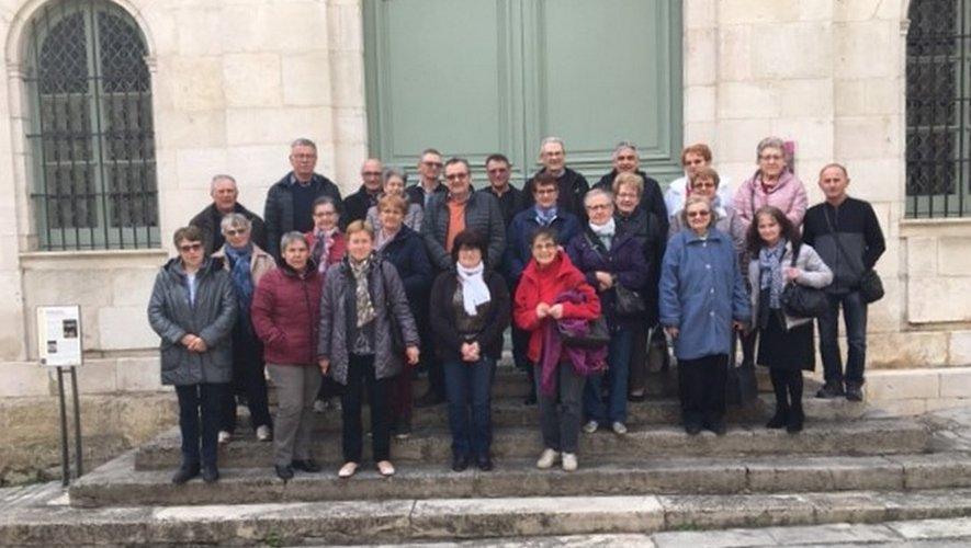 Les Aînés ruraux visitent l'ouest Aveyron