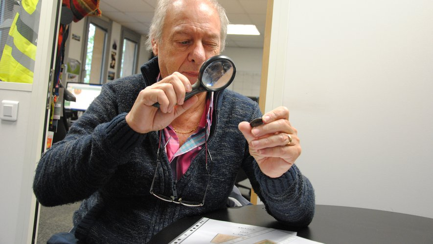 Claude Pastre et le club millavois des Numismatique sont à l'organisation depuis 2005.