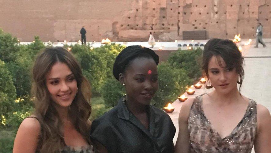 Les invitées VIP du défilé Dior Croisière 2020.