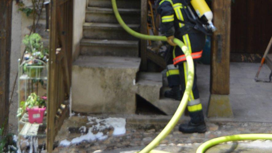 Les pompiers ont vite maîtrisé l'incendie.