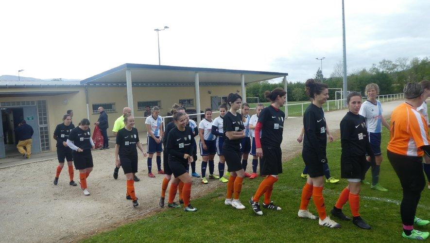 Les féminines du Druelle FC ont obtenu le nul à Payrin Rigautou.