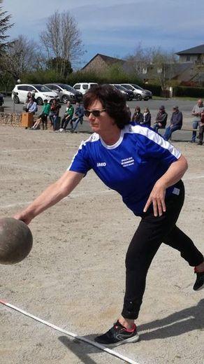 Christiane Souyri en pleine action.