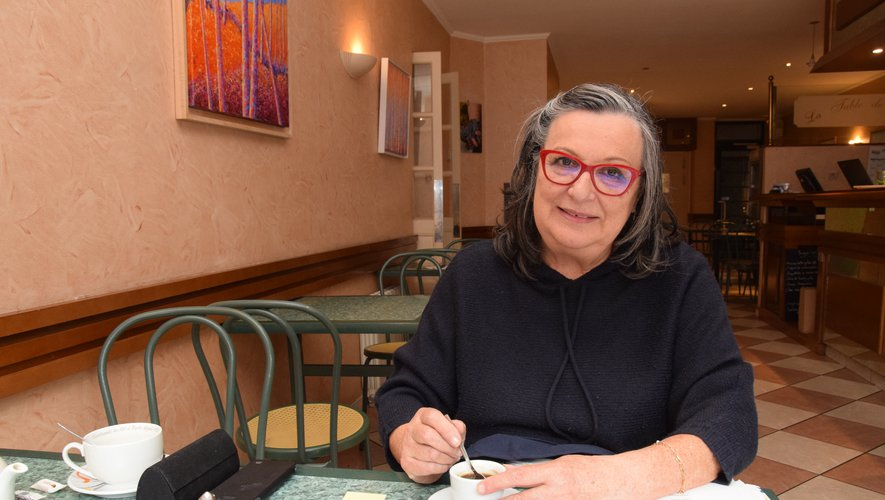 Michèle Herma-Bessières, déléguée départementale adjointe du Rassemblement National.
