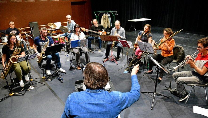"""""""Initiative H"""" avec Millau Jazz : trois jours de stage avant de monter sur scène"""