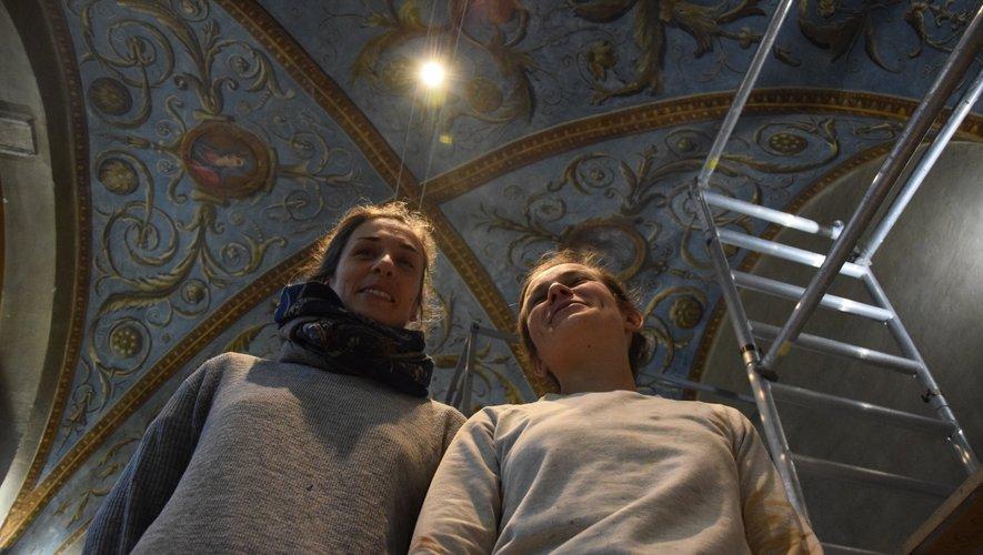 A la manoeuvre, Alexandra Laus et Laura Jamet.