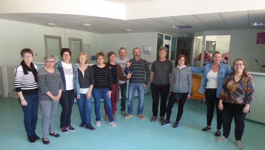 Les participants à ce premier atelier théâtre découverte.