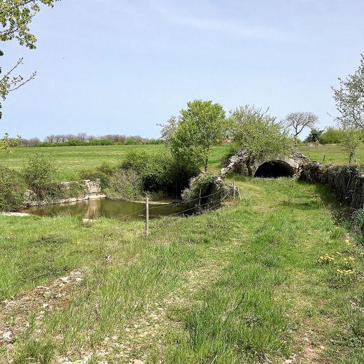 Le village de Saujac restaure  son petit patrimoine caussenard