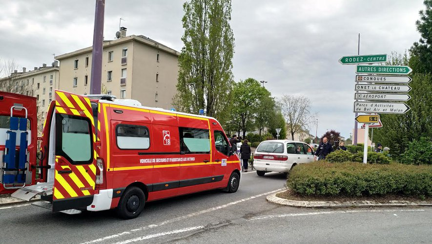 Un accident survenu près du carrefour Saint-Eloi.