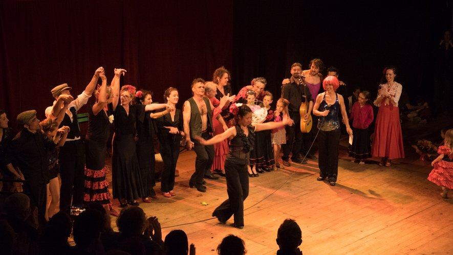 Un festival qui commence en flamenco.