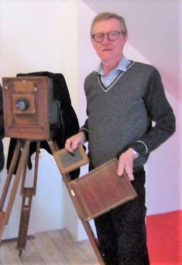 Passionné de d'objets anciens, Jean-Louis Clergue parlera des métaux.