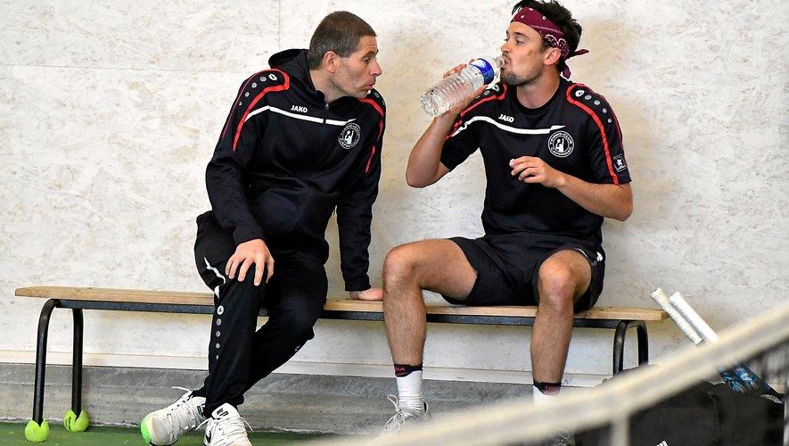 Les conseils du coach Bruno Delfraissy à Mayron Riols n'ont pas suffi hier.