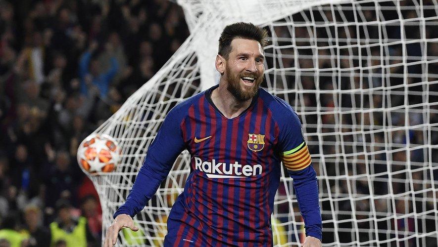 Le footballeur Lionel Messi