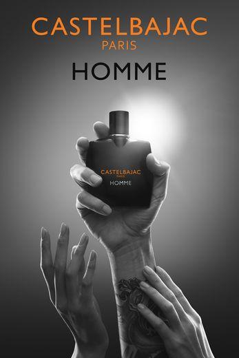"""Le parfum """"Castelbajac Homme"""" de la marque Castelbajac."""