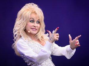 La chanteuse américaine de country Dolly Parton
