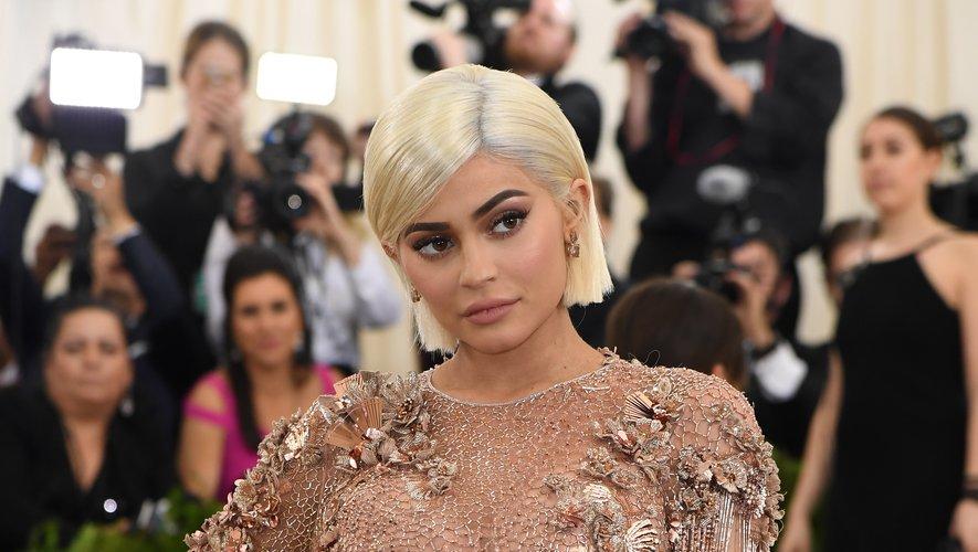 Kylie Jenner lors du gala du Met le 1er mai 2017, au Metropolitan Museum of Art de New York.