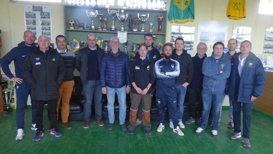Dix éducateurs ont suivi une formation interne club