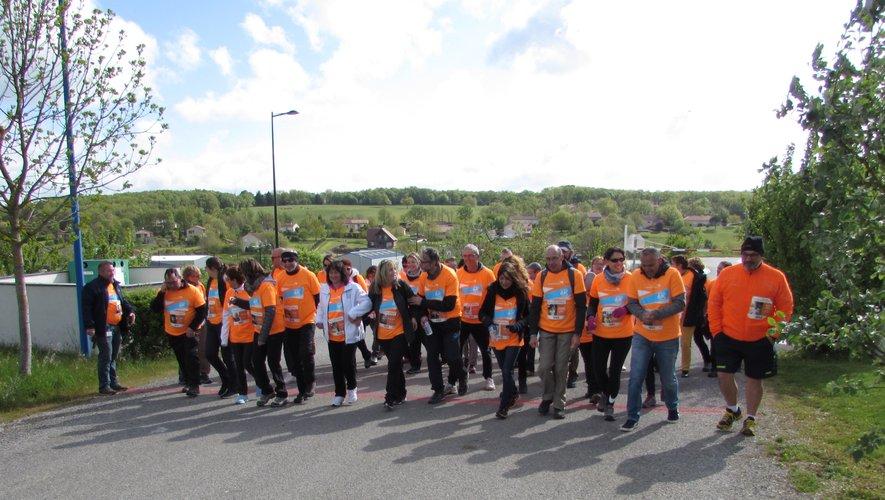 Une bonne mobilisation des marcheurs pour cette journée de solidarité