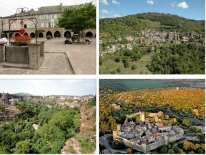 L'Aveyron ne manque pas de sites remarquables. Il sera difficile de faire un choix...