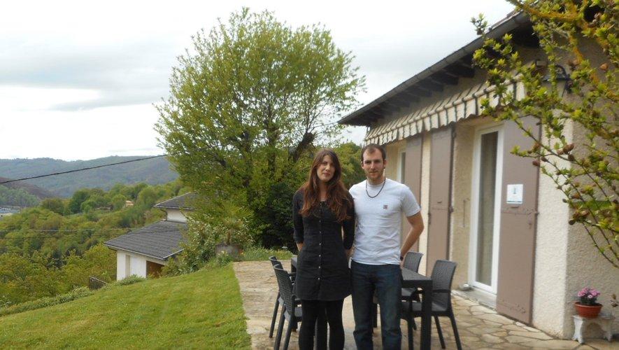 La maison d'Alexandra et Florian est idéalement située.