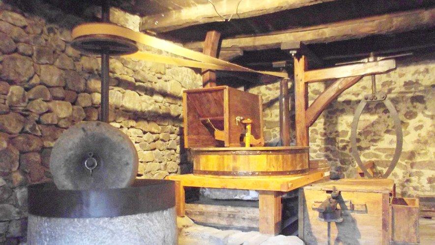 Le moulin de Couffinhal, à Couesques.